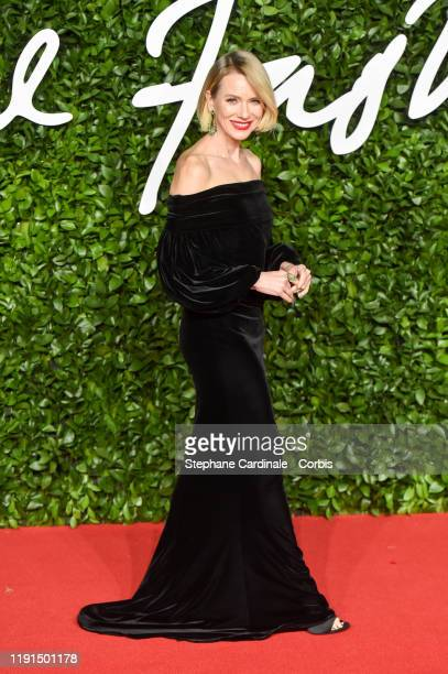 Naomi Watts arrives at The Fashion Awards 2019 held at Royal Albert Hall on December 02 2019 in London England