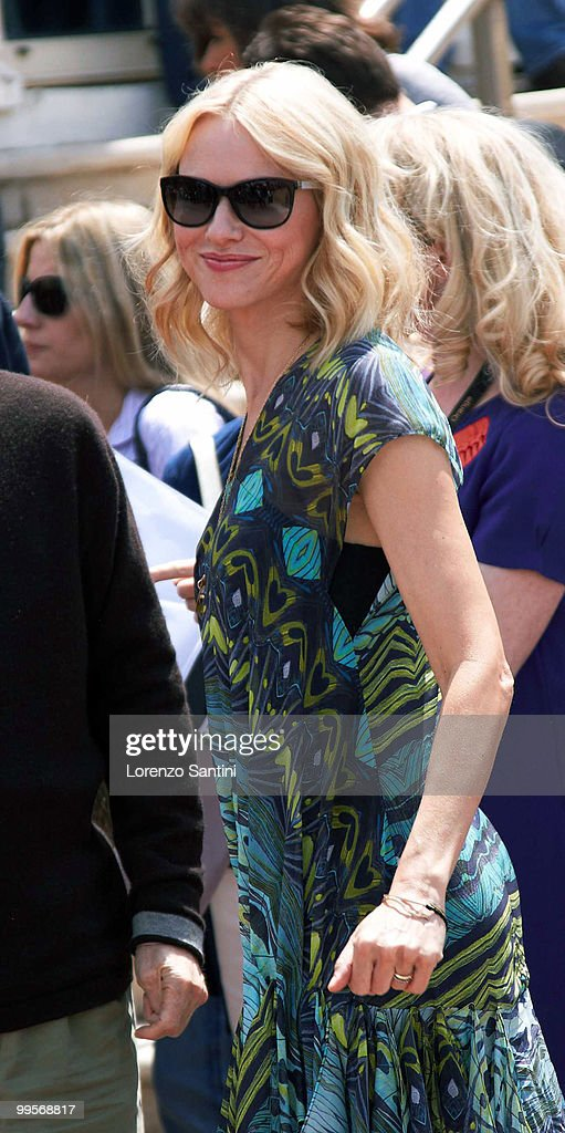 Naomi Watts arrives at the 'You Will Meet A Tall Dark Stranger' Photo Call on May 15, 2010 in Cannes, France.