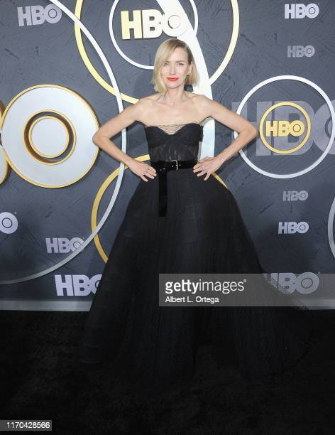 Naomi Watts arrives for the HBO's Post Emmy Awards Reception held at The Plaza at the Pacific Design Center on September 22, 2019 in West Hollywood,...