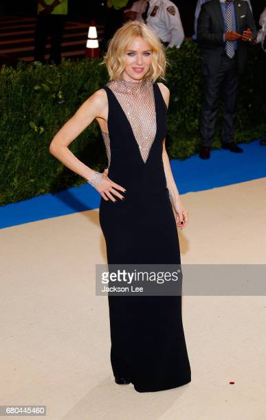 Naomi Watts at 'Rei Kawakubo/Comme des GarçonsArt of the InBetween' Costume Institute Gala at Metropolitan Museum of Art on May 1 2017 in New York...