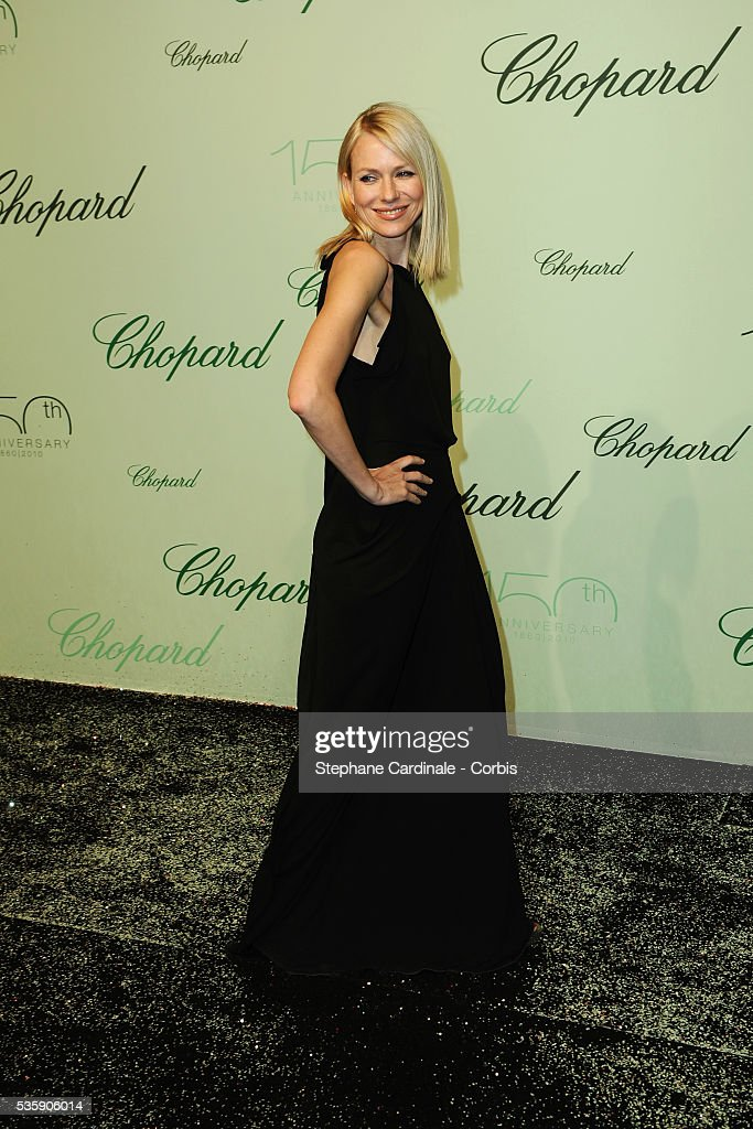 Naomi Watts at the 'Chopard 150th Anniversary Party' during the 63rd Cannes International Film Festival.
