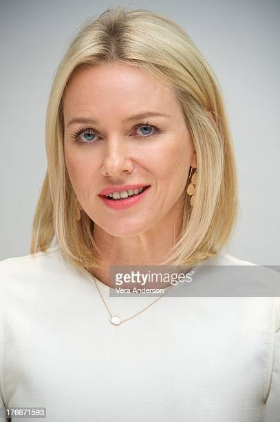 Naomi Watts at the 'Diana' Press Conference at the Four Seasons Hotel Los on August 14 2013 in Beverly Hills California