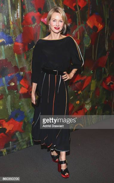 Naomi Watts attends 2017 'Take Home A Nude' art party and auction at Sotheby's on October 11 2017 in New York City
