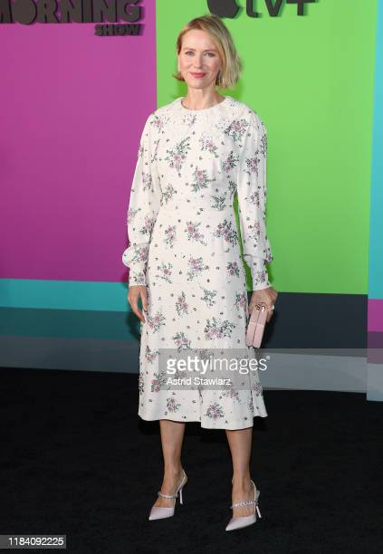 Naomi Watts attends Apple TV's The Morning Show World Premiere at David Geffen Hall on October 28 2019 in New York City