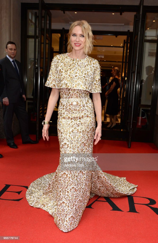 Naomi Watts attends as The Mark Hotel celebrates the 2018 Met Gala at The Mark Hotel on May 7, 2018 in New York City.