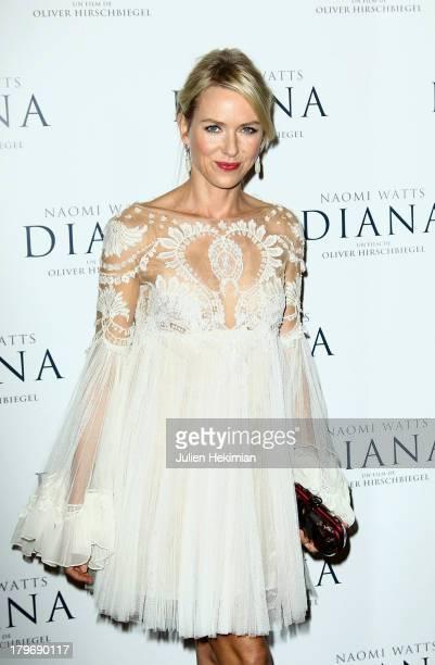 Naomi Watts attends 'Diana' Paris Premiere at Cinema UGC Normandie on September 6 2013 in Paris France