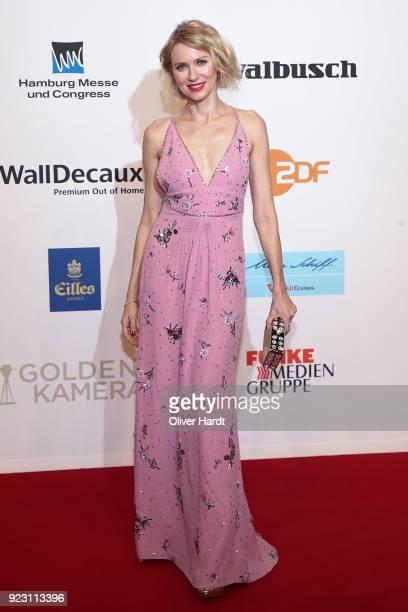 Naomi Watts attends for the Goldene Kamera on February 22 2018 in Hamburg Germany