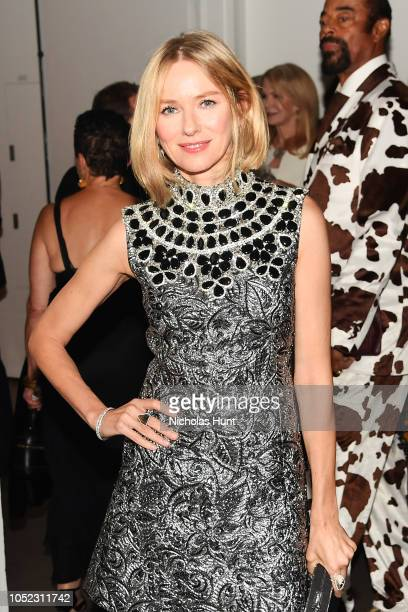 Naomi Watts attends God's Love We Deliver Golden Heart Awards at Spring Studios on October 16 2018 in New York City