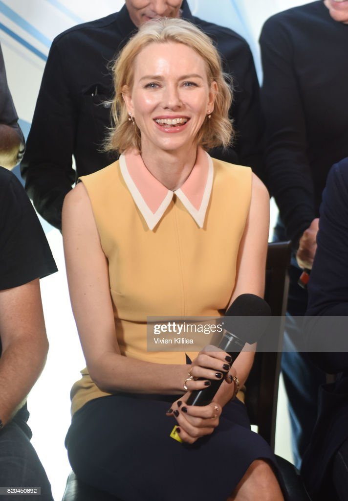 Naomi Watts attends SiriusXM's Entertainment Weekly Radio Channel Broadcasts From Comic Con 2017 at Hard Rock Hotel San Diego on July 21, 2017 in San Diego, California.