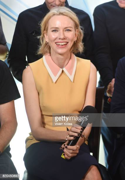 Naomi Watts attends SiriusXM's Entertainment Weekly Radio Channel Broadcasts From Comic Con 2017 at Hard Rock Hotel San Diego on July 21 2017 in San...