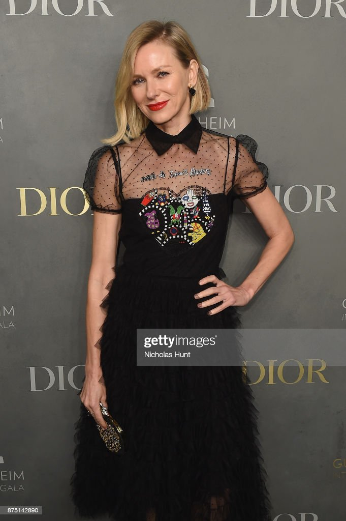 Naomi Watts attends the 2017 Guggenheim International Gala made possible by Dior on November 16, 2017 in New York City.