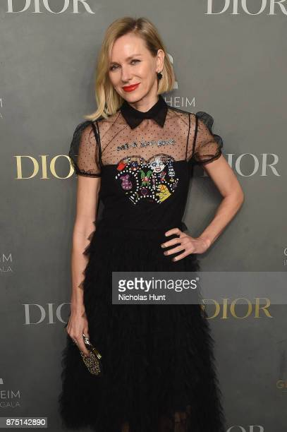 Naomi Watts attends the 2017 Guggenheim International Gala made possible by Dior on November 16 2017 in New York City