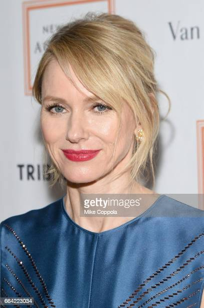 Naomi Watts attends the 2017 Tribeca Ball at the New York Academy of Art on April 3 2017 in New York City