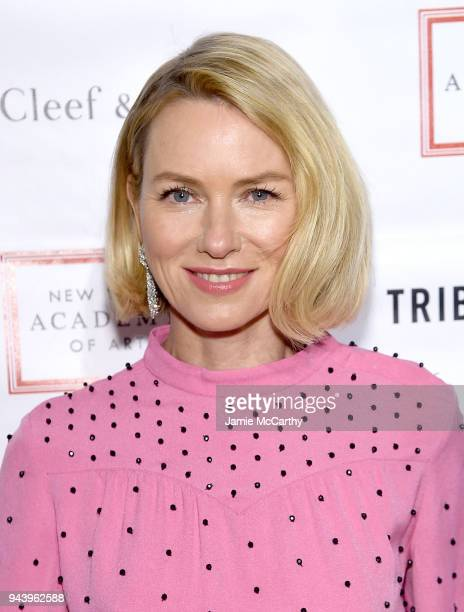 Naomi Watts attends the 2018 TriBeCa Ball at New York Academy of Art on April 9 2018 in New York City