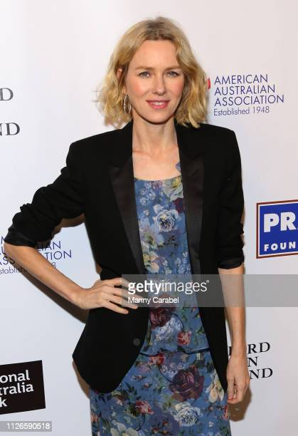 Naomi Watts attends the 2019 American Australian Arts Awards at Skylight Modern on January 31 2019 in New York City