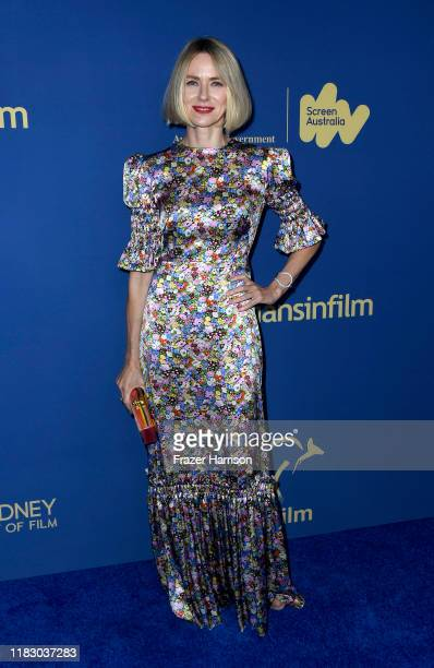 Naomi Watts attends the 2019 Australians In Film Awards at InterContinental Los Angeles Century City on October 23, 2019 in Los Angeles, California.