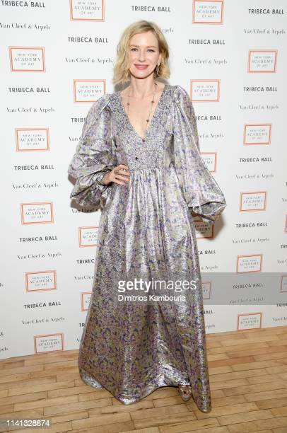 Naomi Watts attends the 2019 TriBeCa Ball at New York Academy of Art on April 08 2019 in New York City