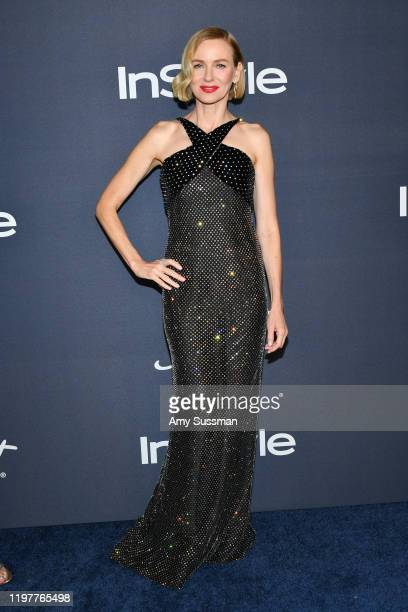 Naomi Watts attends the 21st Annual Warner Bros. And InStyle Golden Globe After Party at The Beverly Hilton Hotel on January 05, 2020 in Beverly...