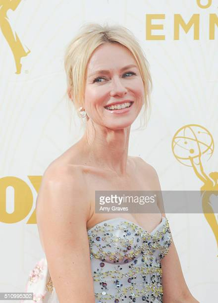 Naomi Watts attends the 67th Annual Primetime Emmy Awards on September 20 2015 in Los Angeles California