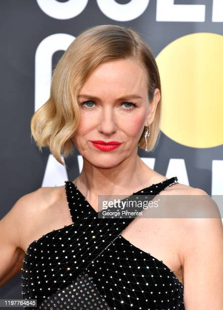 Naomi Watts attends the 77th Annual Golden Globe Awards at The Beverly Hilton Hotel on January 05, 2020 in Beverly Hills, California.
