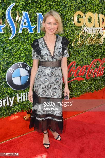 Naomi Watts attends the 7th Annual Gold Meets Golden at Virginia Robinson Gardens and Estate on January 04 2020 in Los Angeles California