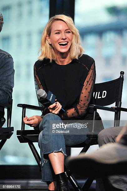 """Naomi Watts attends the AOL Build Speaker Series to discuss """"Demolition"""" at AOL Studios In New York on March 22, 2016 in New York City."""