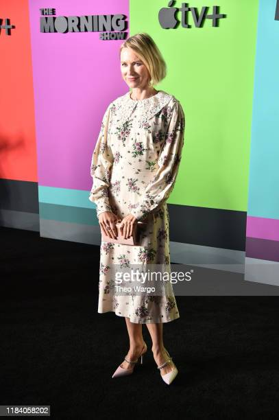 Naomi Watts attends the Apple TV's The Morning Show World Premiere at David Geffen Hall on October 28 2019 in New York City