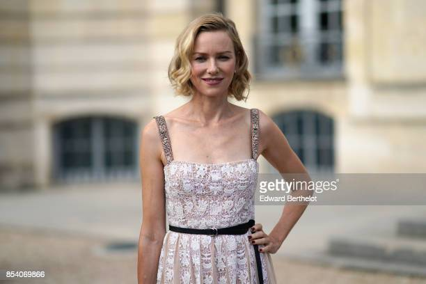 Naomi Watts attends the Christian Dior show as part of the Paris Fashion Week Womenswear Spring/Summer 2018 on September 26 2017 in Paris France
