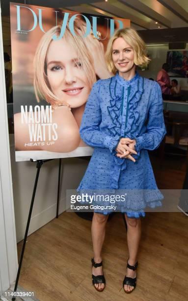 Naomi Watts attends the DuJour Media's Jason Binn and Naomi Watts Memorial Day KickOff at Brooklyn Chop House at the Capri Hotel on May 25 2019 in...
