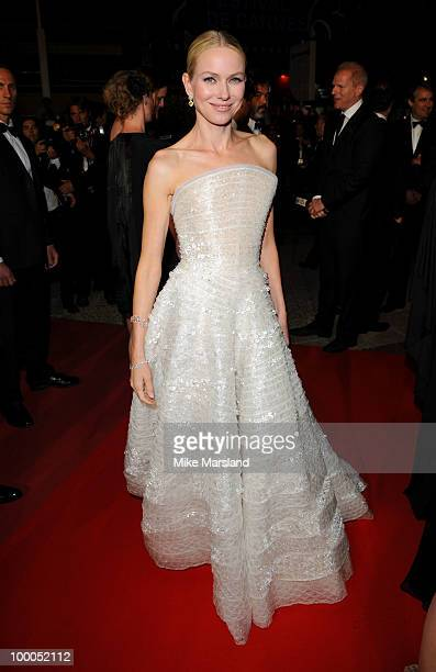 Naomi Watts attends the 'Fair Game' Premiere held at the Palais des Festivals during the 63rd Annual International Cannes Film Festival on May 20...