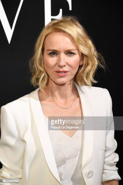Naomi Watts attends the Giorgio Armani Prive Haute Couture Fall/Winter 20172018 show as part of Haute Couture Paris Fashion Week on July 4 2017 in...