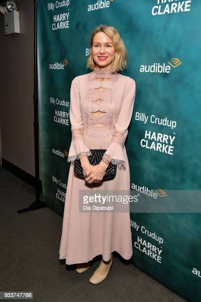 Naomi Watts attends the Harry Clarke Opening Night at the Minetta Lane Theatre on March 18 2018 in New York City