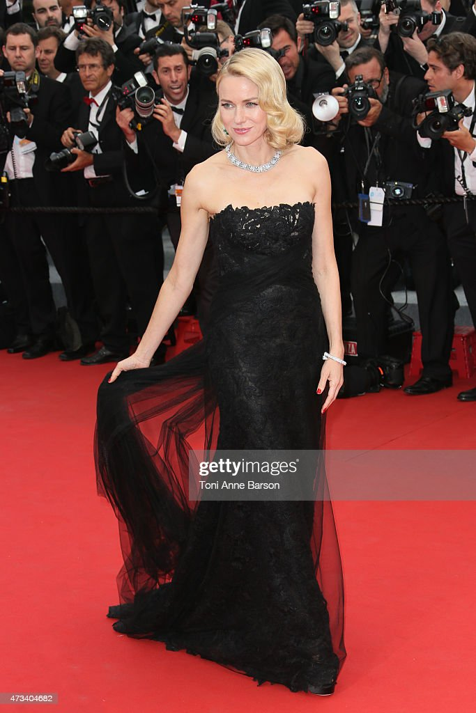 Naomi Watts attends the 'Mad Max: Fury Road' premiere during the 68th annual Cannes Film Festival on May 14, 2015 in Cannes, France.