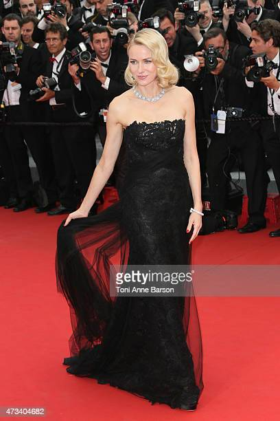 Naomi Watts attends the 'Mad Max Fury Road' premiere during the 68th annual Cannes Film Festival on May 14 2015 in Cannes France
