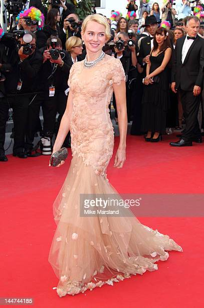 Naomi Watts attends the 'Madagascar 3 Europe's Most Wanted' Premiere during the 65th Annual Cannes Film Festival at Palais des Festivals on May 18...