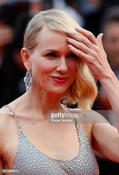 Naomi Watts attends the Money Monster premiere during the 69th annual Cannes Film Festival at the Palais des Festivals on May 12 2016 in Cannes France