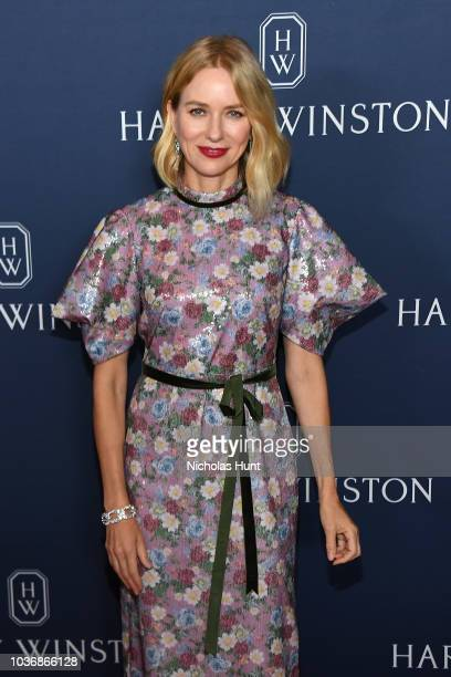 Naomi Watts attends the New York Collection by Harry Winston at The Rainbow Room on September 20 2018 in New York City