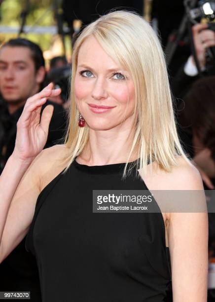 Naomi Watts attends the premiere of 'Biutiful' held at the Palais des Festivals during the 63rd Annual International Cannes Film Festival on May 17...