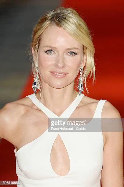 Naomi Watts attends the premiere of Diana at Odeon Leicester Square