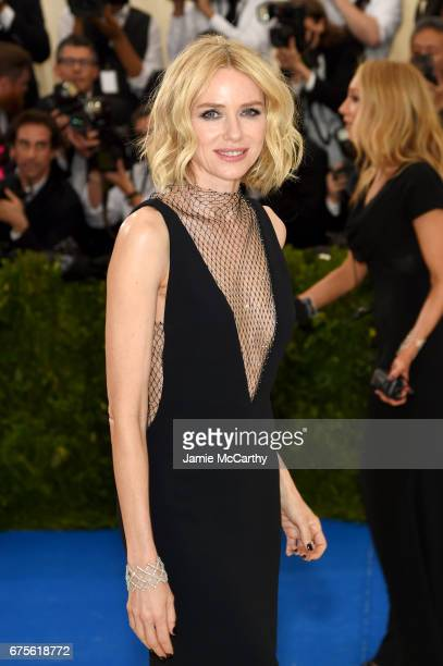 Naomi Watts attends the 'Rei Kawakubo/Comme des Garcons Art Of The InBetween' Costume Institute Gala at Metropolitan Museum of Art on May 1 2017 in...