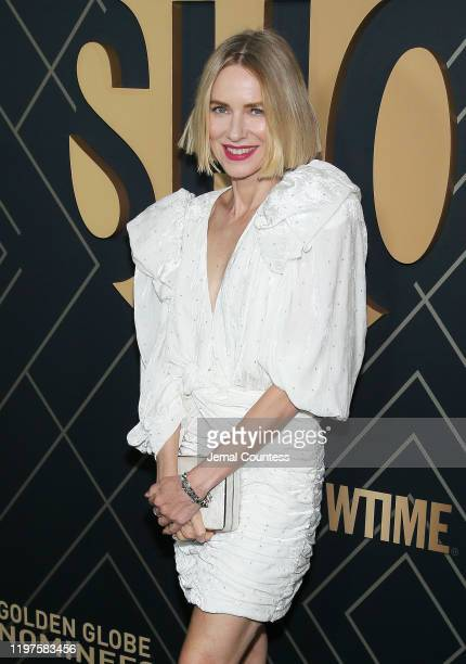 Naomi Watts attends the Showtime Golden Globe Nominees Celebration at the Sunset Tower Hotel on January 04, 2020 in West Hollywood, California.
