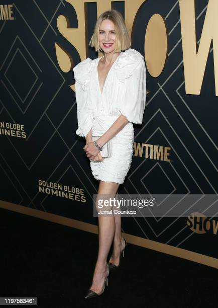 Naomi Watts attends the Showtime Golden Globe Nominees Celebration at the Sunset Tower Hotel on January 04 2020 in West Hollywood California