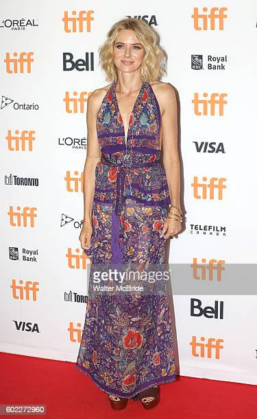 Naomi Watts attends the 'The Bleeder' Red Carpet Premiere for the 2016 Toronto International Film Festival Premiere at the Princess of Whales Theatre...