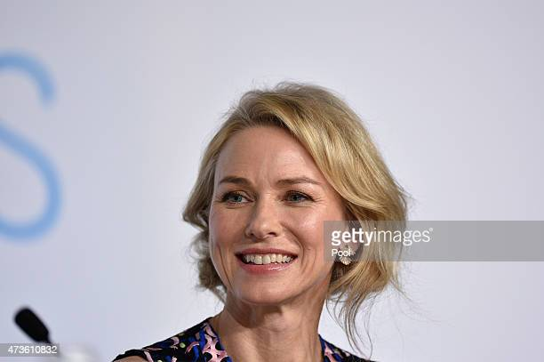 Naomi Watts attends the 'The Sea Of Trees' press Conference during the 68th annual Cannes Film Festival on May 16 2015 in Cannes France