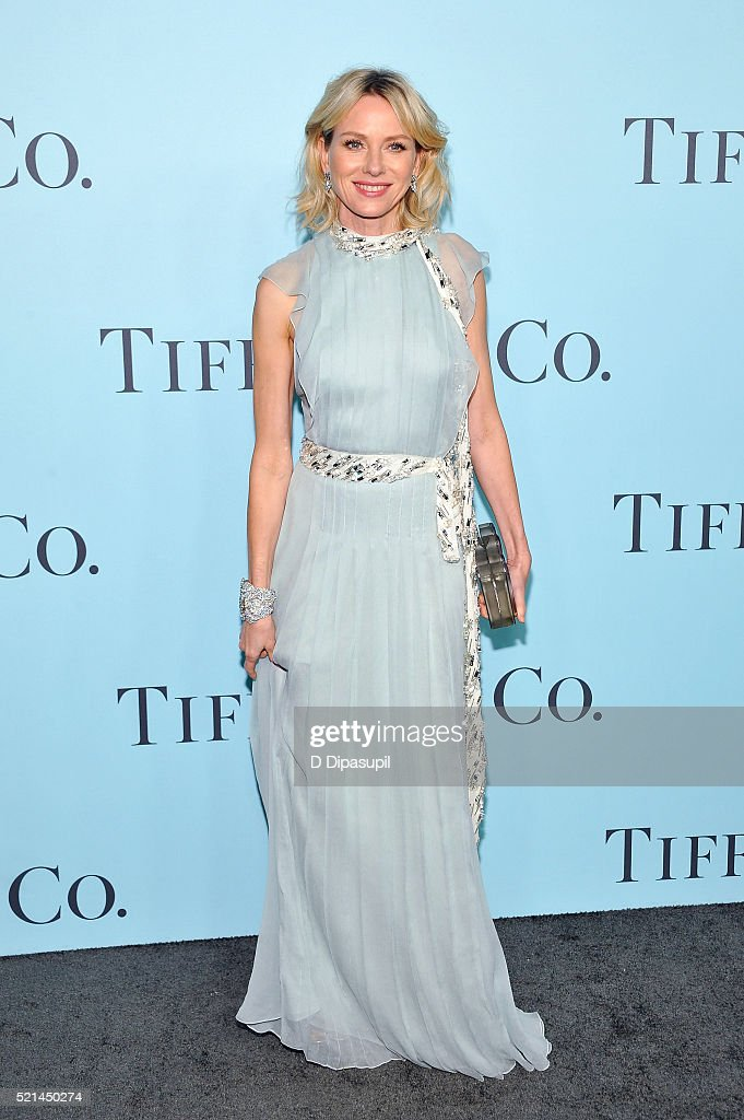 Naomi Watts attends the Tiffany & Co. Blue Book Gala at The Cunard Building on April 15, 2016 in New York City.