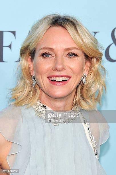 Naomi Watts attends the Tiffany Co Blue Book Gala at The Cunard Building on April 15 2016 in New York City