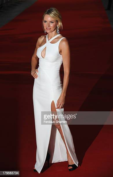 """Naomi Watts attends the World Premiere of """"Diana"""" at Odeon Leicester Square on September 5, 2013 in London, England."""