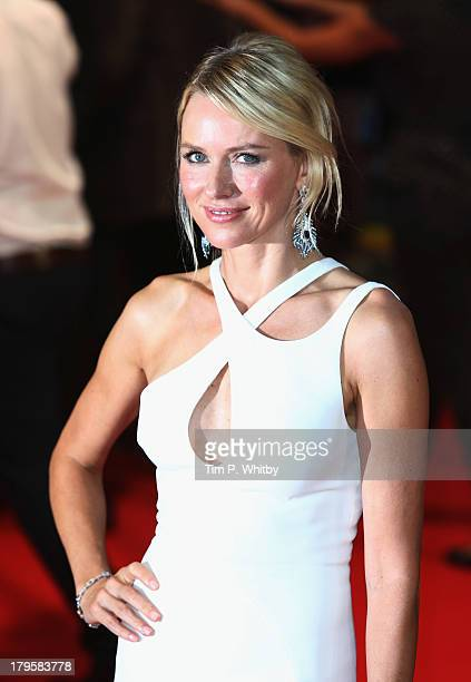 Naomi Watts attends the World Premiere of Diana at Odeon Leicester Square on September 5 2013 in London England