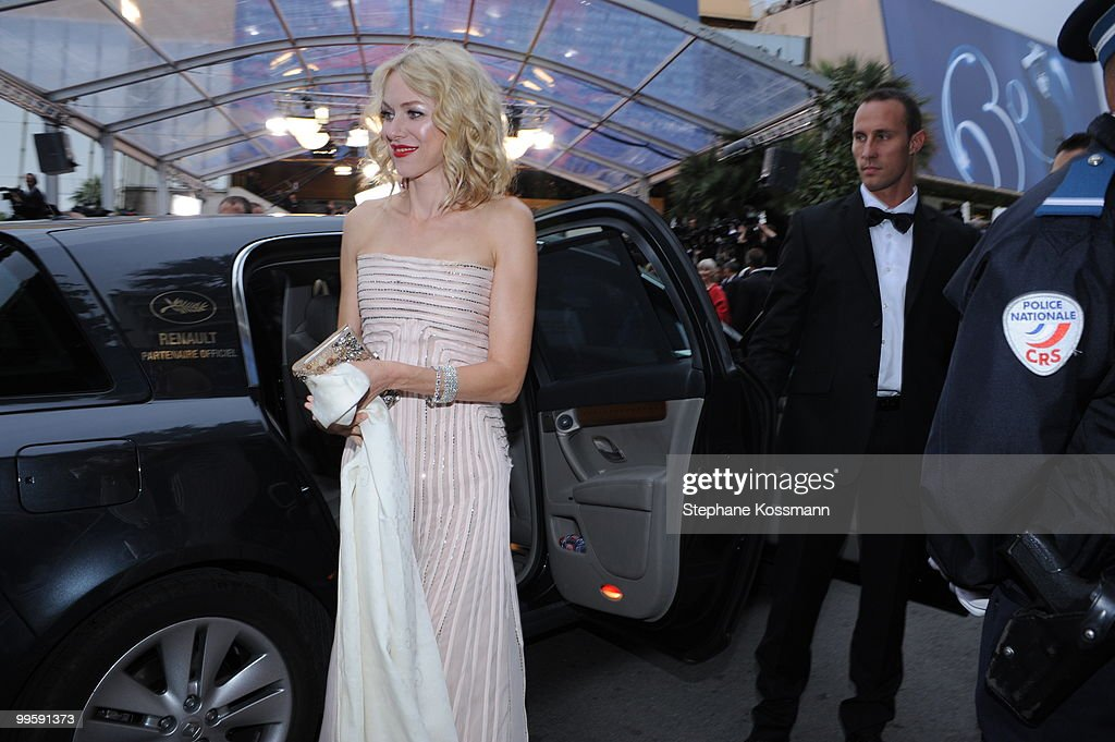 Naomi Watts attends the 'You Will Meet A Tall Dark Stranger' Premiere at the Palais des Festivals during the 63rd Annual Cannes Film Festival on May 15, 2010 in Cannes, France.
