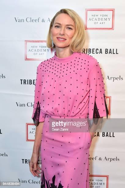 Naomi Watts attends Tribeca Ball to benefit New York Academy of Art at New York Academy of Art on April 9 2018 in New York City Naomi Watts